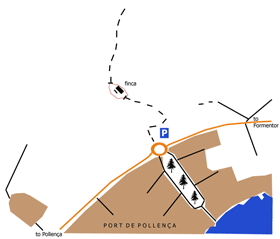 The Boquer Valley Entrance Map