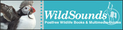Wildsounds. Postfree wildlife books and multimedia guides