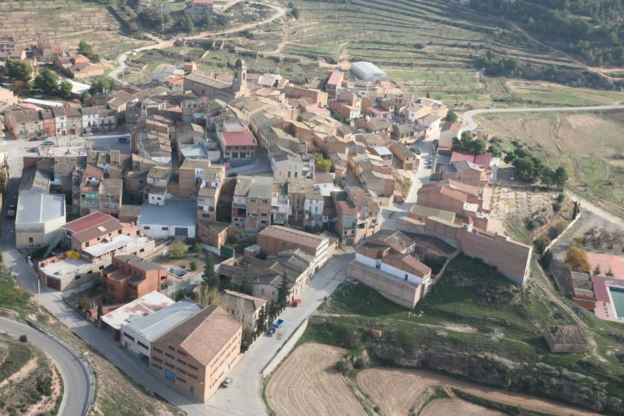 The village of Bovera in the Garrigues, Catalonia